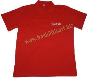 Polo Yaka Düğmeli Tişört