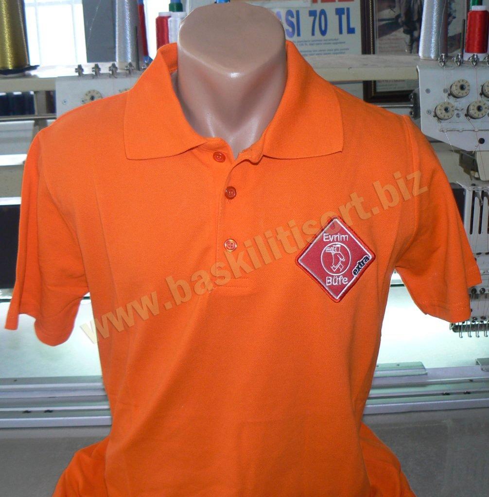 Polo Yaka Düğmeli Tshirt