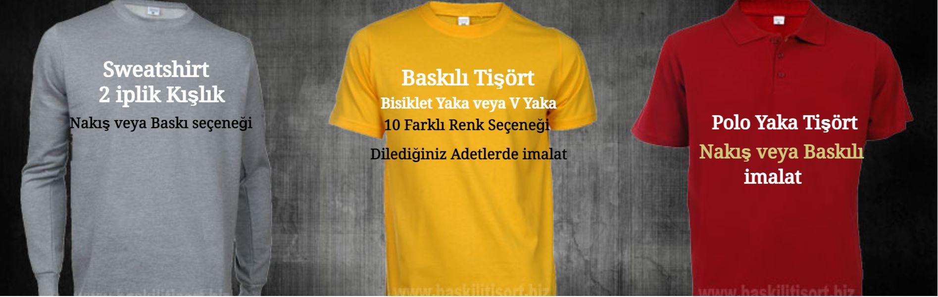 Şirket Logolu Baskılı Tişört