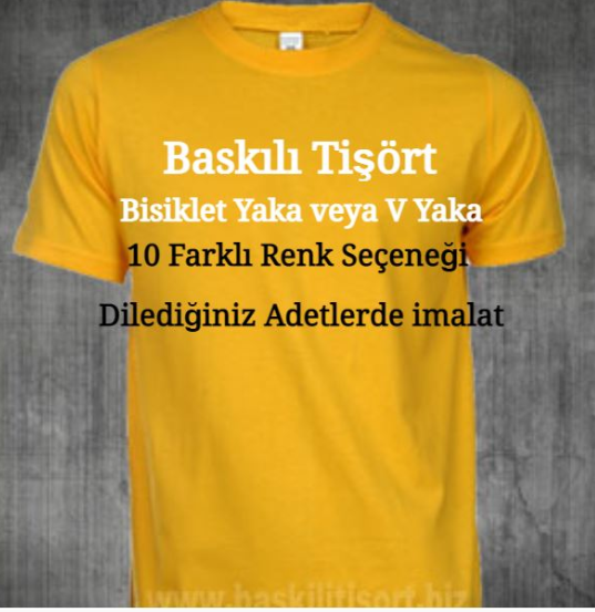 T-shirt Baskı Fiyatları İstanbul